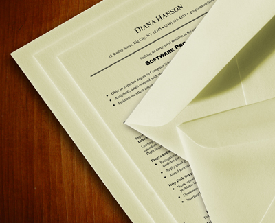 100% Cotton Resume Paper