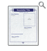 Traditional Newsletter 1
