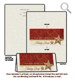 Holiday Party Invitation Card